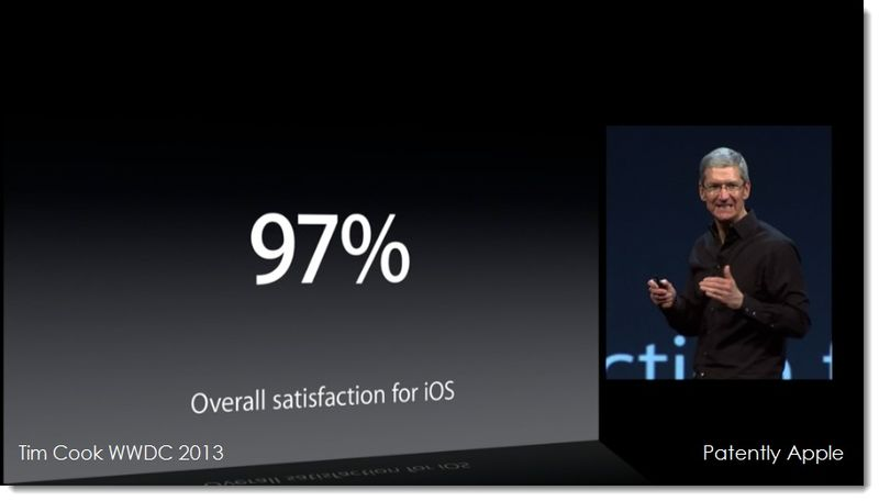 3. Tim Cook - Overall satisfaction for iOS