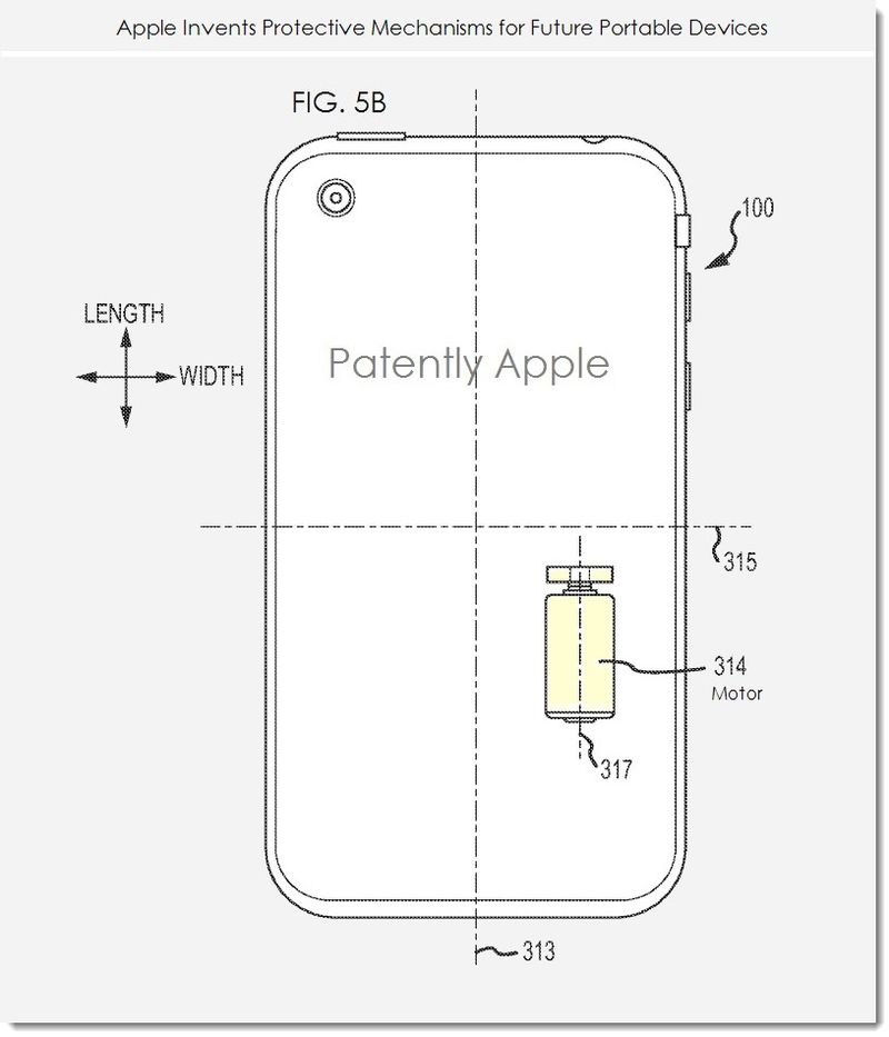 2. Apple invents protective mechanisms for future portable devices