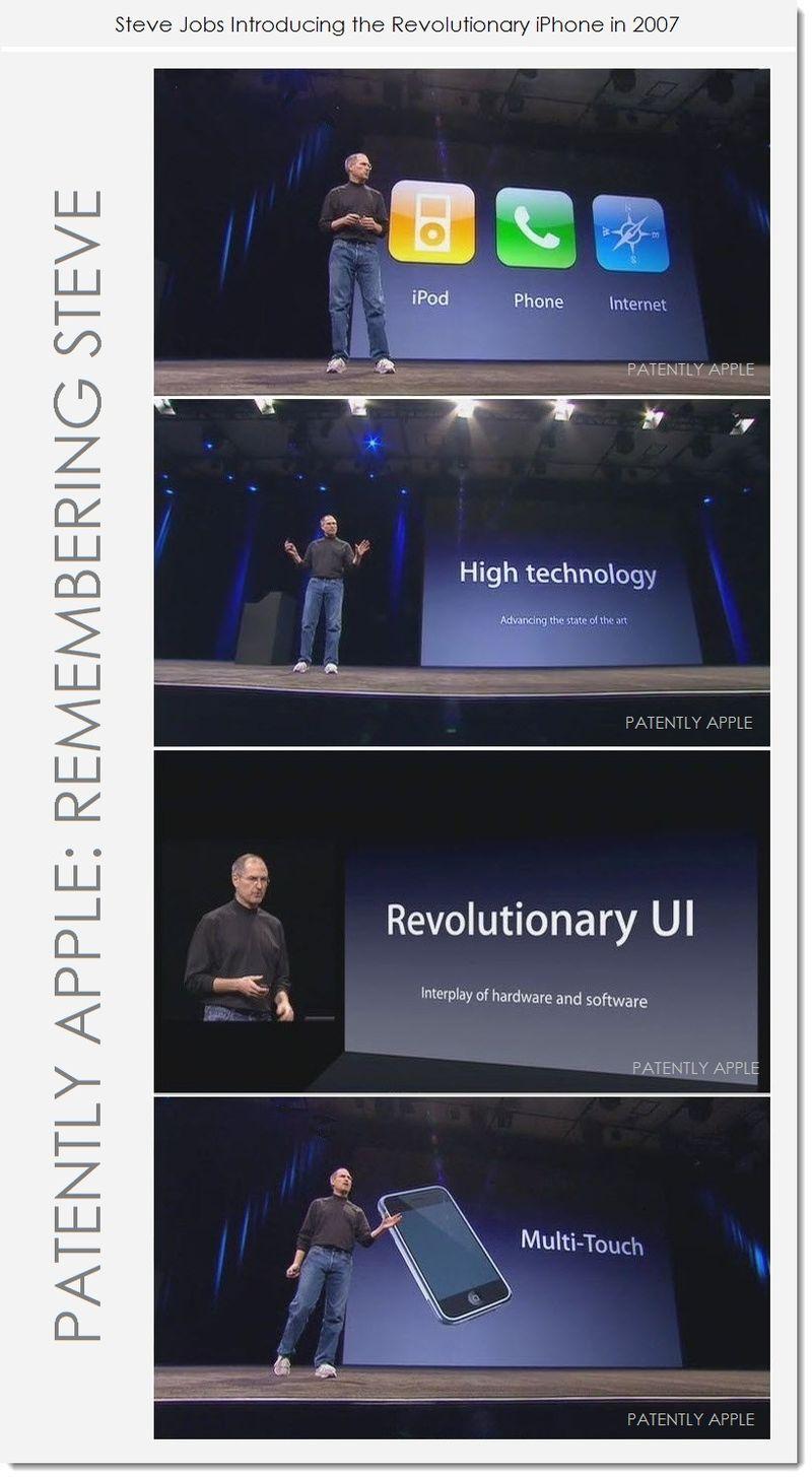 6A. Steve Jobs intros the revolutionary iPhone Jan 2007