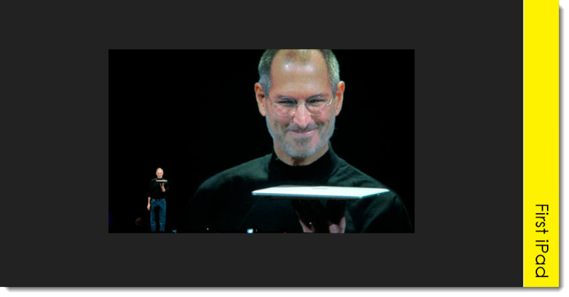 A9A. Steve Jobs introduces the iPad