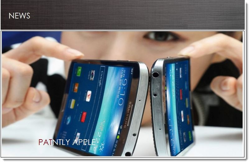 Cover - Samsung debuts curved display smartphone debuts tomorrow Oct 10, 2013