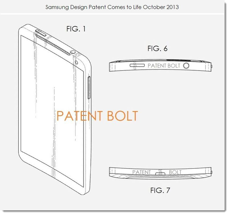 2. Samsung patent comes to life Oct 2013