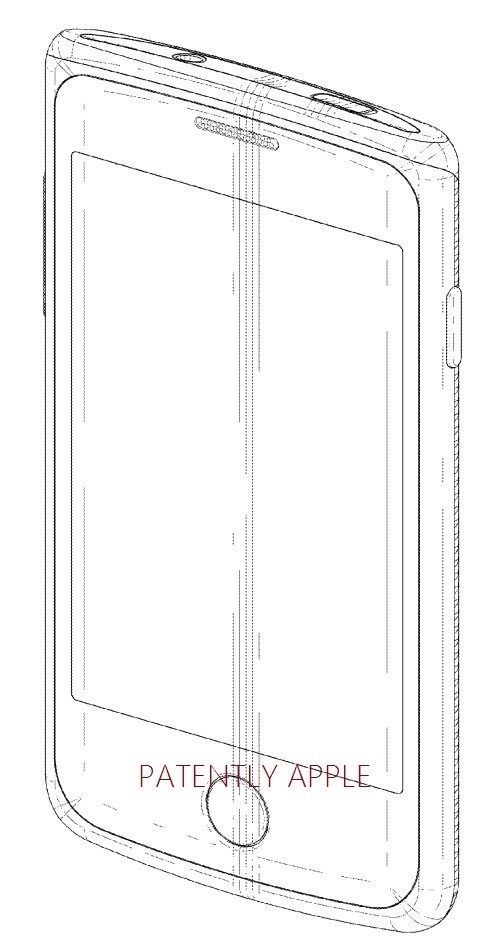 2. Samsung design patent with round home button