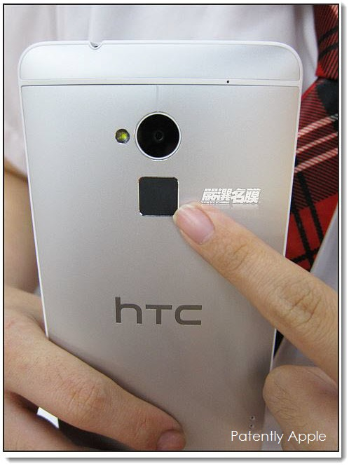 Extra A - Update - Q4 HTC one has Fingerprint Scanner on backside