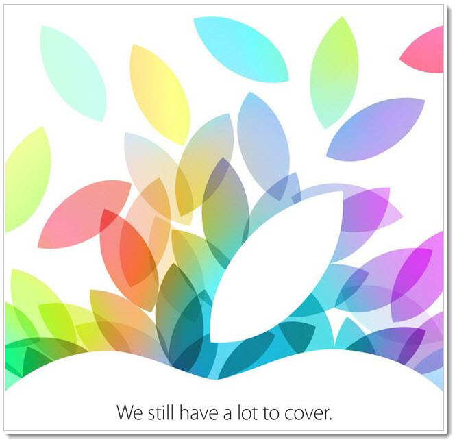 4. Apple Event Oct 22