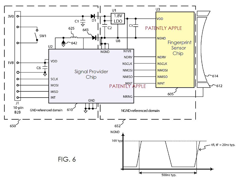 apple reveals more details of touch id for iphone ipad beyond rh patentlyapple com Transducer Ultrasonic Proximity Sensor Circuit Infrared Sensor Diagram