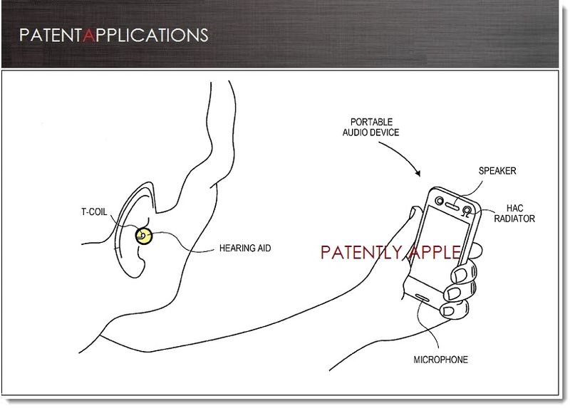 1. Cover - Apple invents iPhone with voice & separately amplified telecoil channels