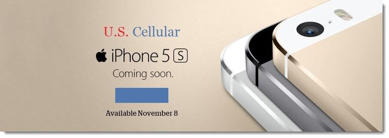 1a. US Cellular to sell iPhones Nov 8, 2013