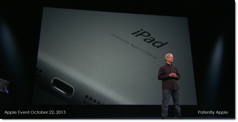 2a. Apple Event Oct 22, 2013 Tim Cook, iPad, Made in California