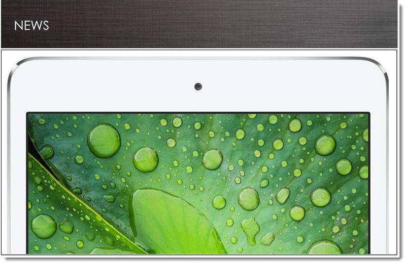 Apple Introduces Next Generation Retina Resolution for ...Ipad Mini Retina Size