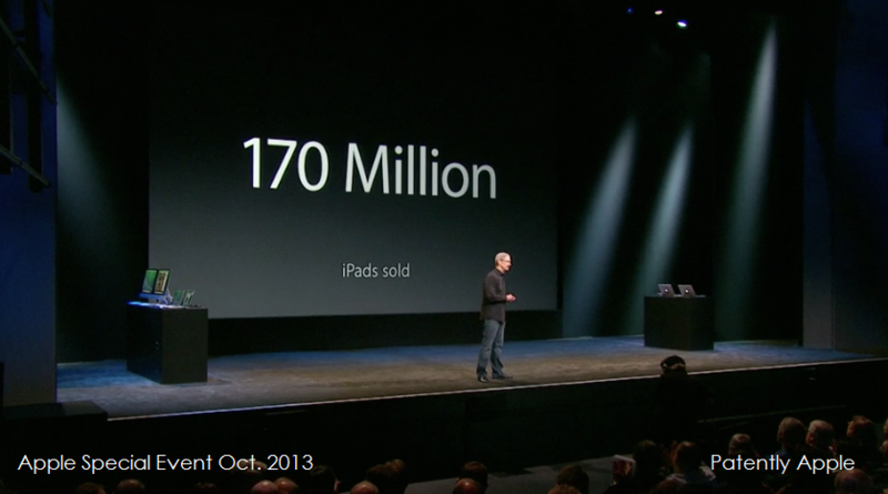 16 - a tim cook 170 million iPads sold