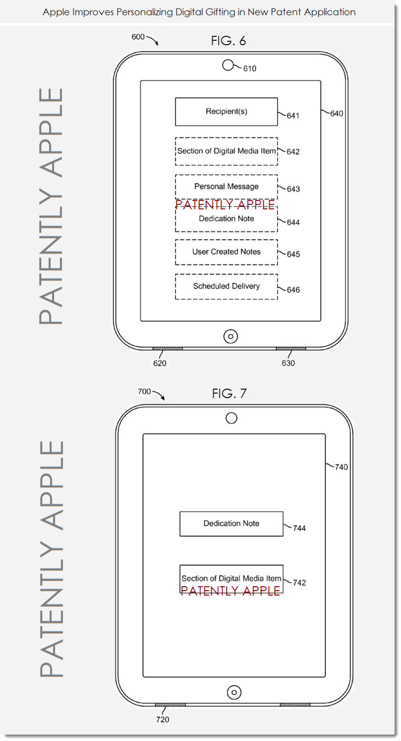 3. Apple patent figs 6 and 7
