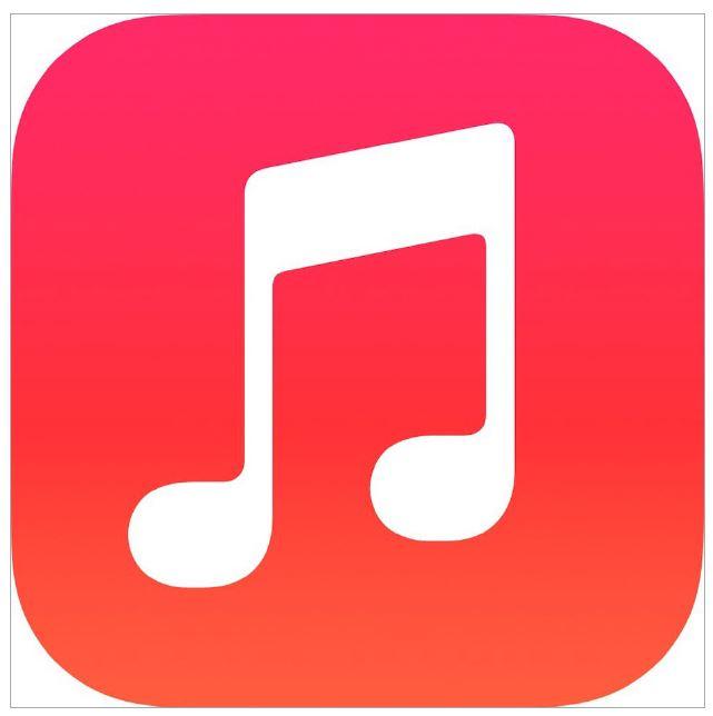 6. iOS 7 icon for Music - TM gigantic icon Apple