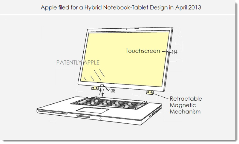 3. Apple's patent pending hybrid notebook patent image from April 2013