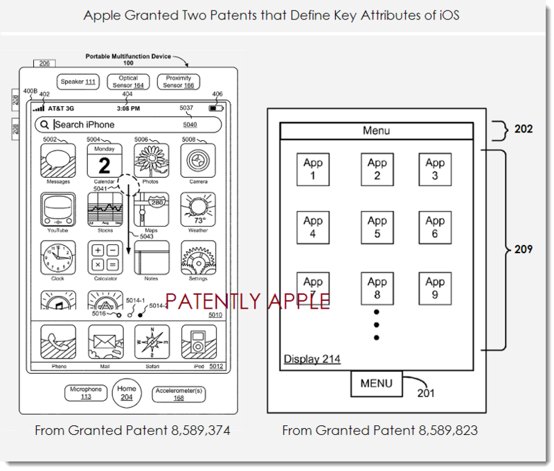 4. Apple granted 2 defining iOS patents Nov 19, 2013