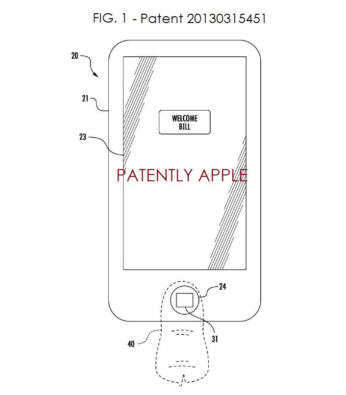 3. PATENT FIG 1 FROM 20130315451