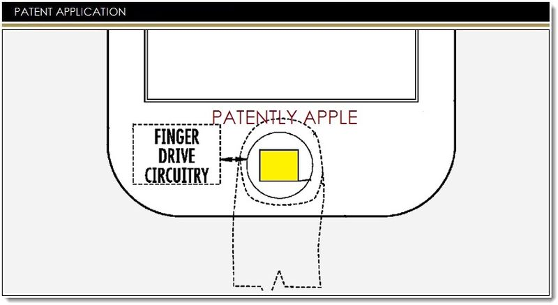 1. Cover - Apple - New Touch ID Patents
