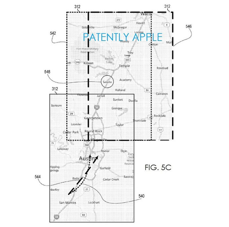 3. Apple map patent