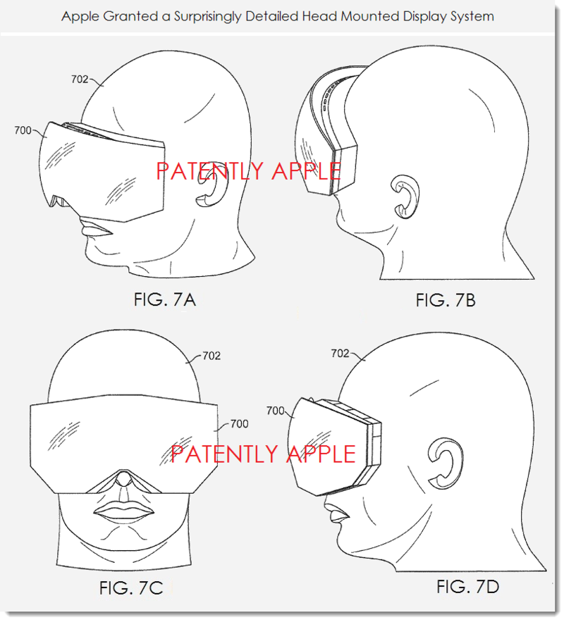 2. head mounted display patent figs 7a, b, c, d