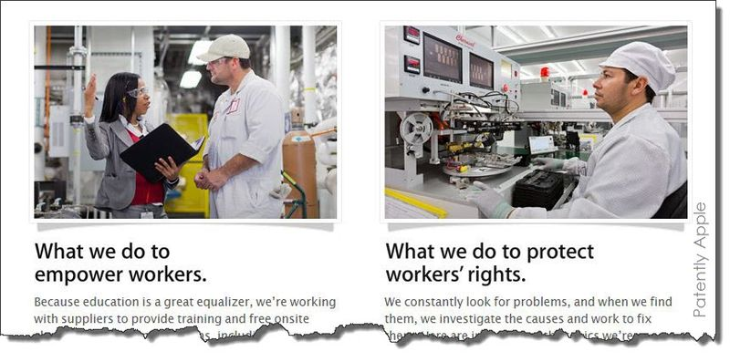 2AA. Apple graphic on Workers rights