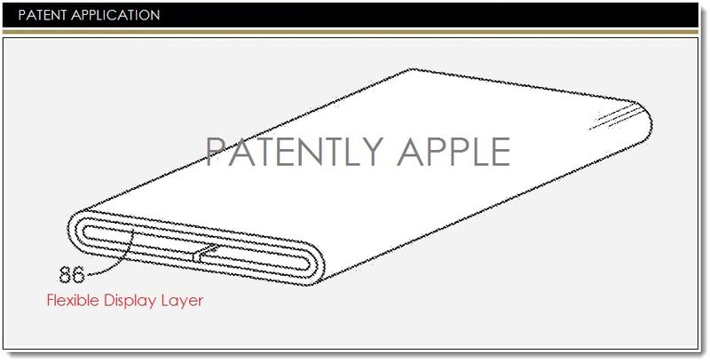 1. Cover - Apple continuous flex display patent filing