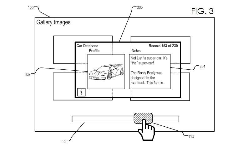 4. Apple patent - heads-up patent fig 3