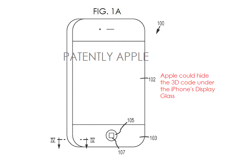 1a Apple invents 3D code for iPhone - anti-counterfeit measure