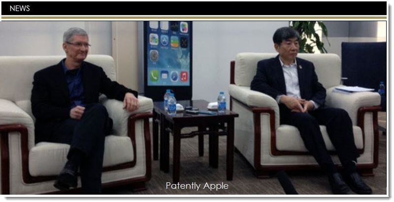 1 Apple CEO in China for China Mobile launch of iPhone