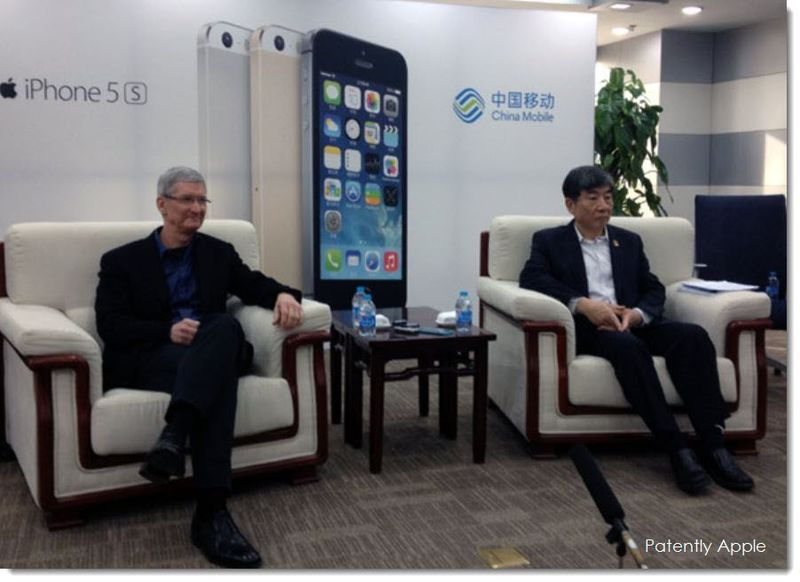 2. Apple CEO Tim Cook China Mobile CEO