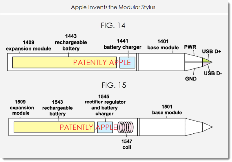8a Apple modular stylus patent figs 14, 15 power