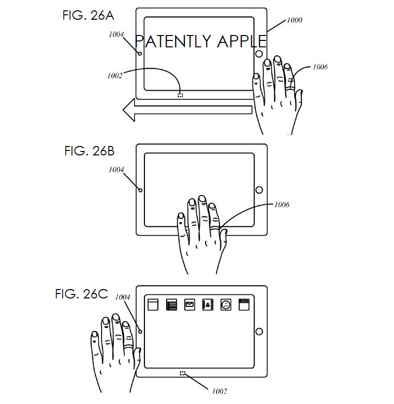 11. iPad state - Turn off, on with swipe of hand