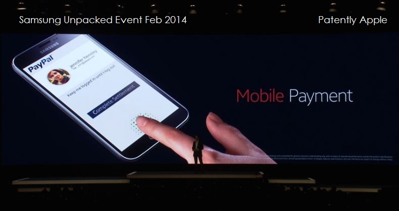 8. Fingerprint Scanner Mobile Payments - PayPal ready