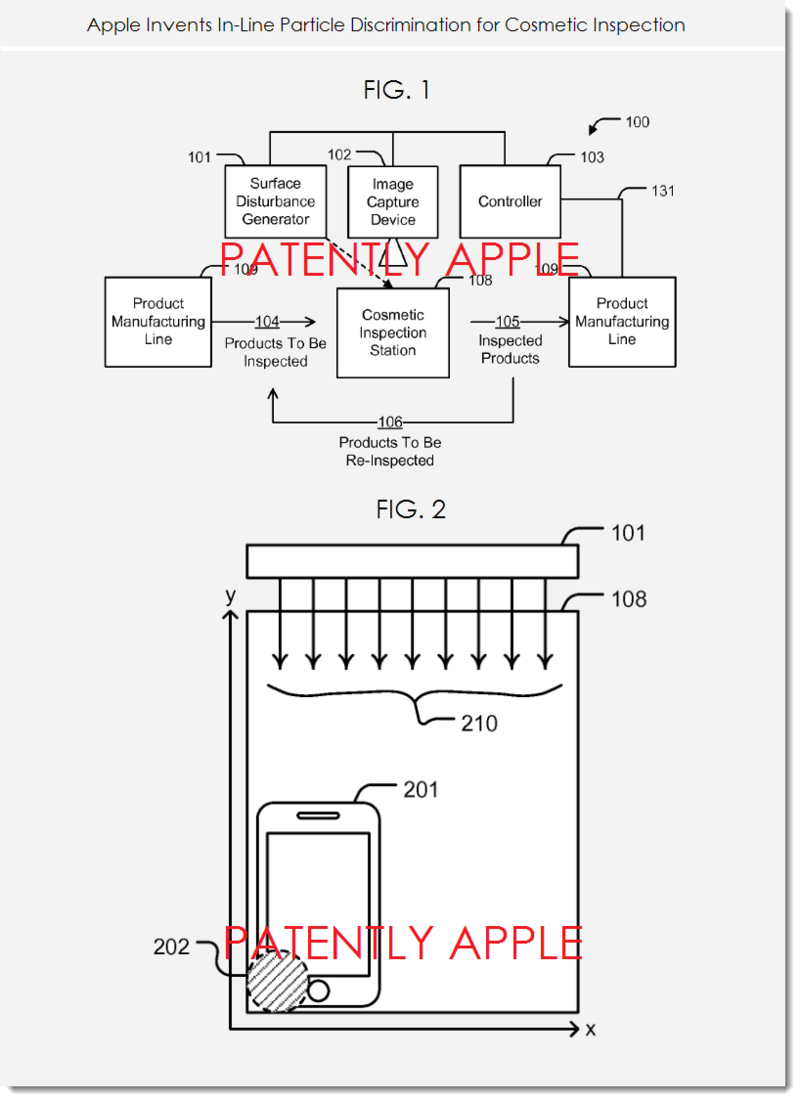 2. Apple patent figs. 1 and 2 cosmetic inspection