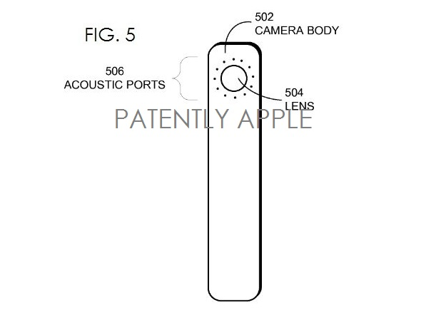 4. Apple standalone camera patent fig. 5