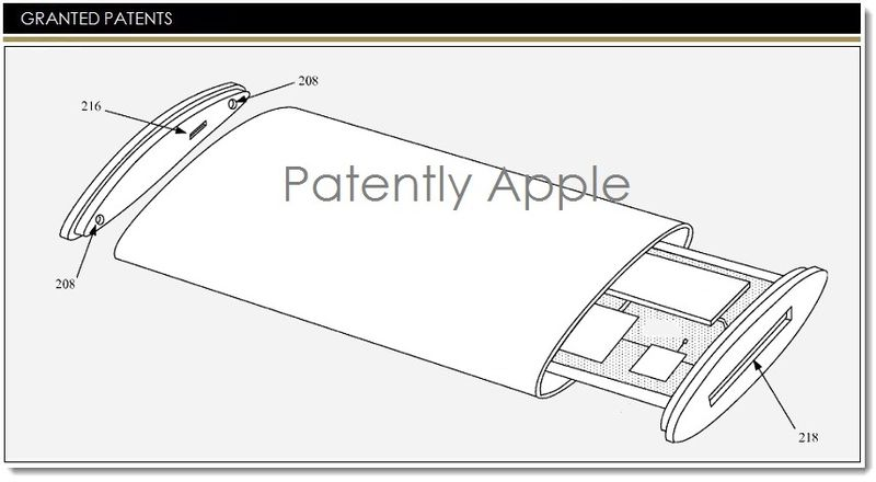 1. Cover - Apple Granted Patent for wraparound display