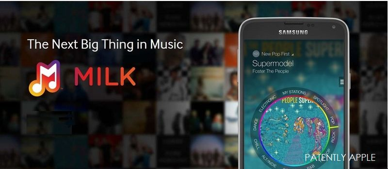 1A. Milk Music, Samsung music streaming service