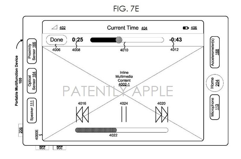 5. iDevice, multitouch patent