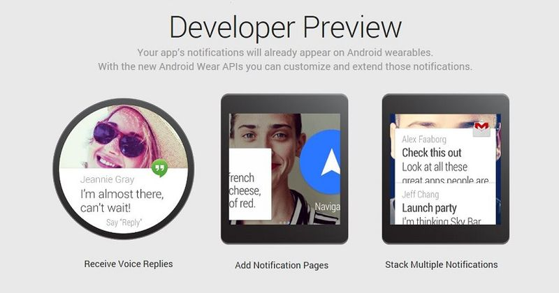 3. Android Wear Preview
