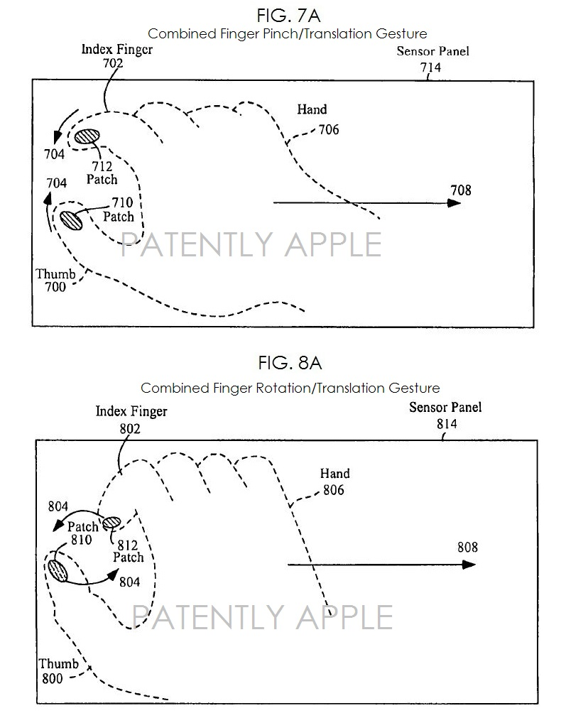 2A. Finger Pinch gesture patent win for Apple Mar 25, 2014