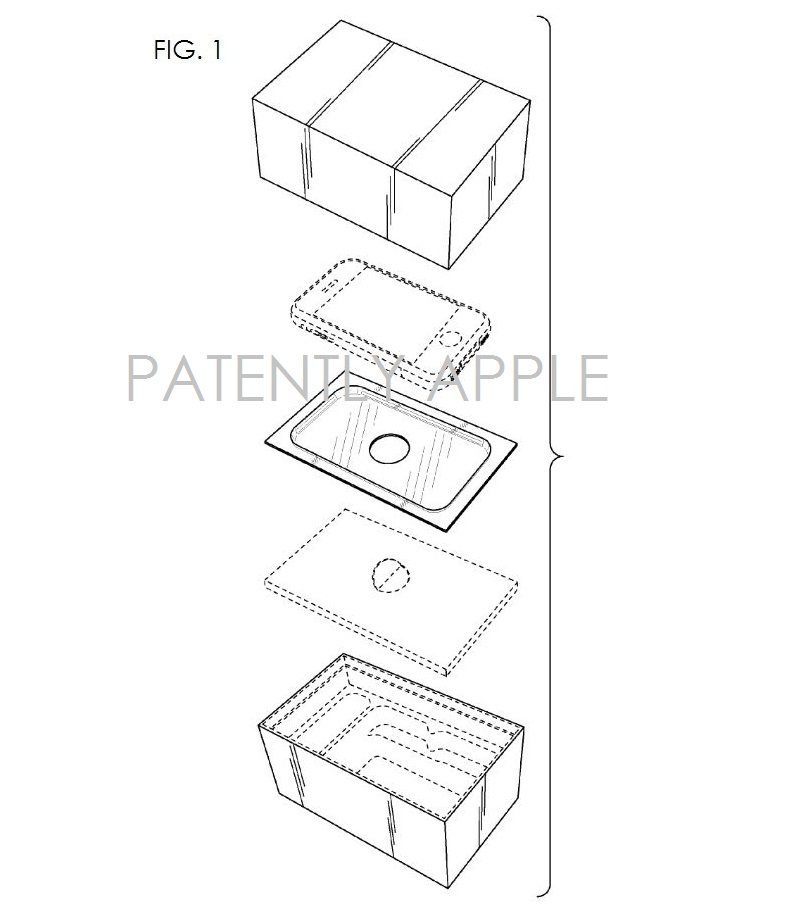 4. Apple iPhone retail packaging granted patent