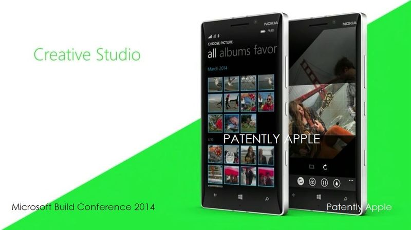 6 Creative Studio Software included with the 930 Lumia for video editing
