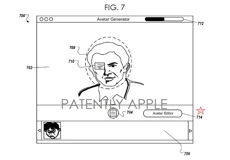 5. Apple avatar patent