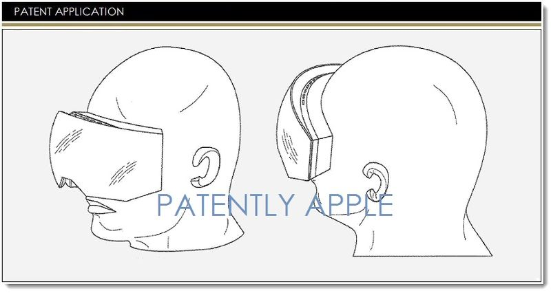 1. Cover Apple video headset device