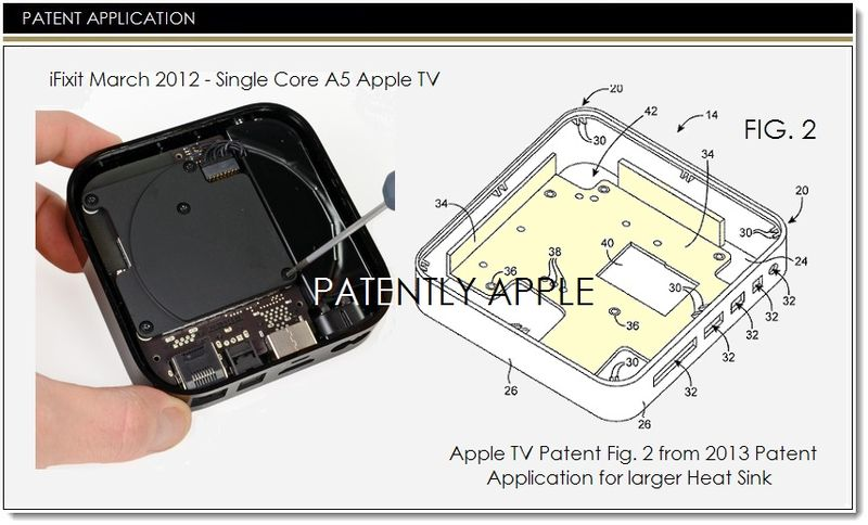 1. Cover Apple heat sink patent