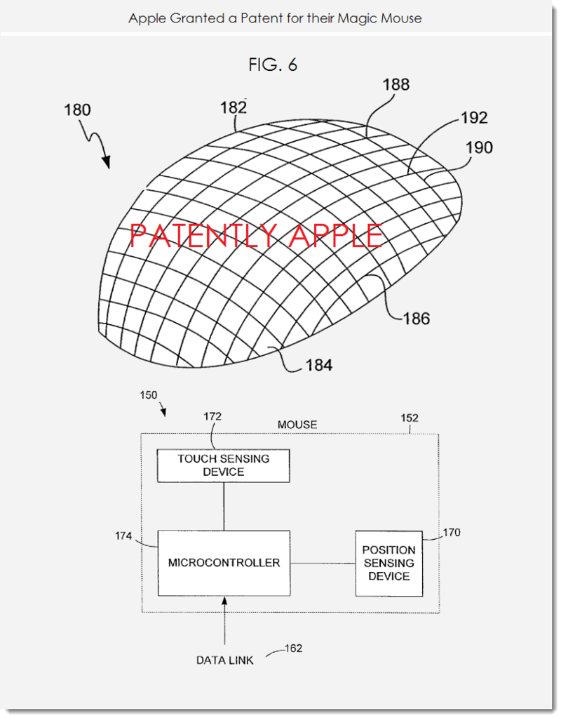 3. Apple granted patent for Magic Mouse figs 5,6