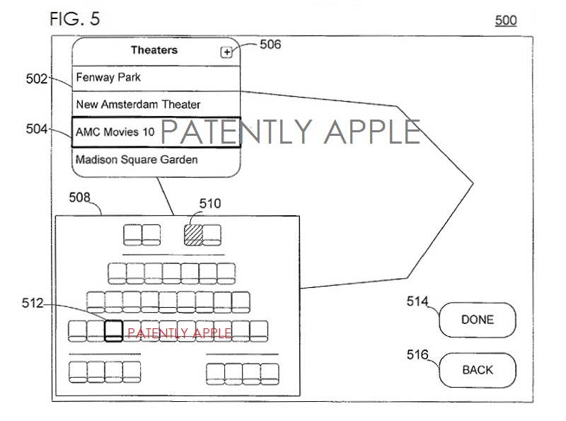 3AF. APPLE PATENT FIG. 5 RE PERSONAL DISPLAY DEVICE
