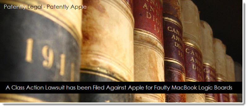 1 - May 17, 2014 - Class Action against Apple for faulty MacBook logic Boards