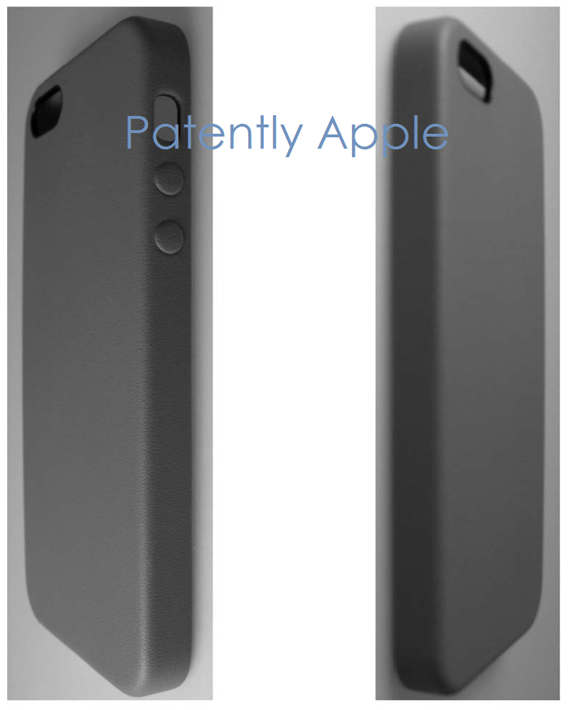 5AF - China Grants Apple a design patent for an idevice - perspective views # 5 and 6