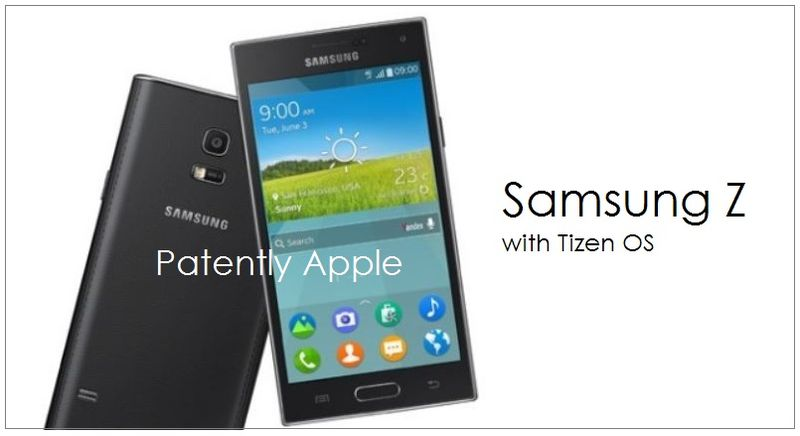 1. Cover - Samsung Z with Tizen OS June 2014