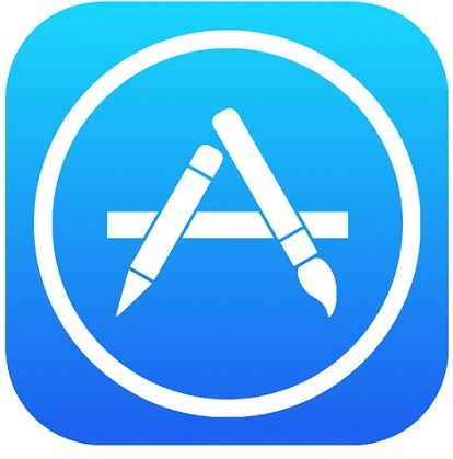 2AF - APPLE APP STORE LOGO ICON